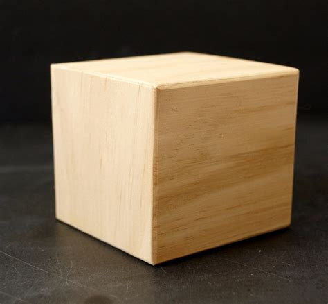 Blank Wooden Blocks