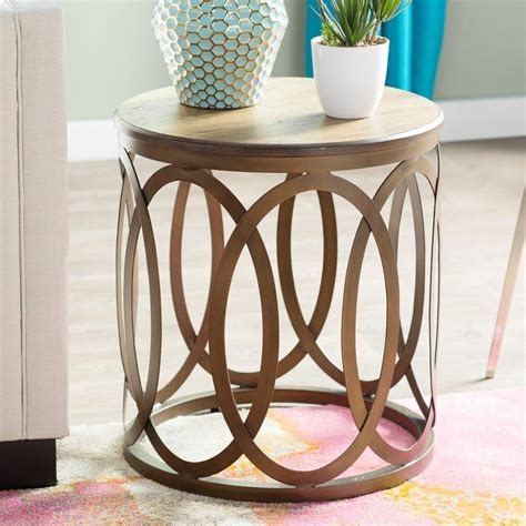 Bleich End Table