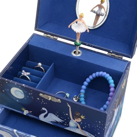blue jewelry boxes for girls