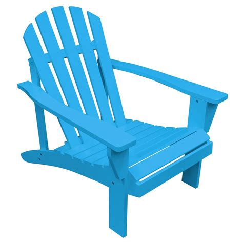 Blue Adirondack Chairs Home Depot