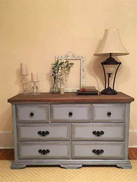 Blue Dresser Wood