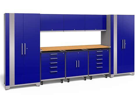 Blue Steel Garage Cabinets