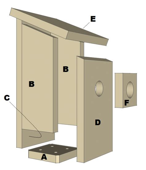 Bluebird House Plan
