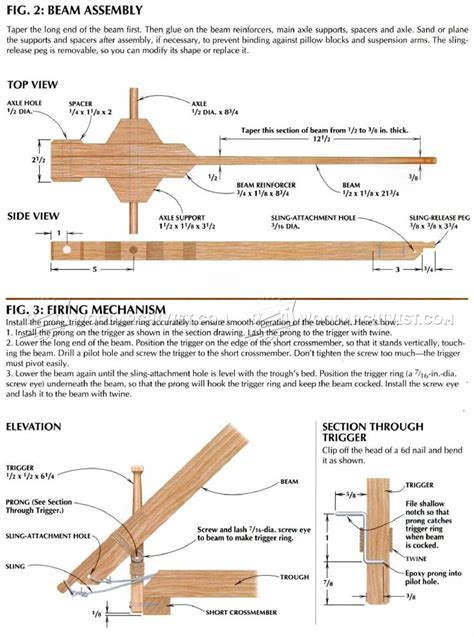 blueprints for trebuchet