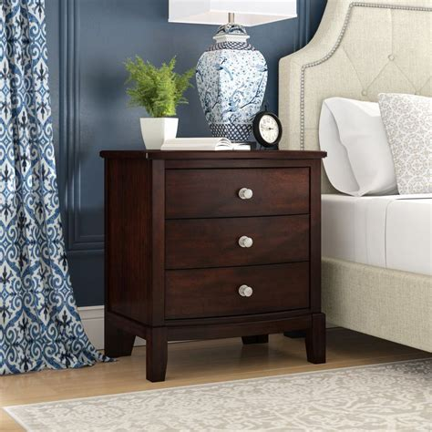 Blumer 3 Drawer Nightstand by Darby Home Co