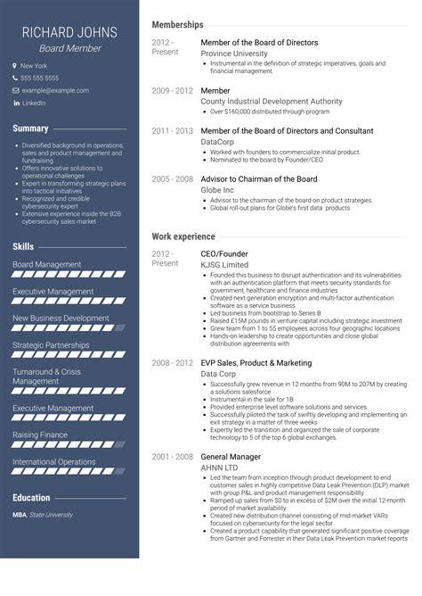 board position resume   printable certificate border templateboard position resume board member resume samples visualcv