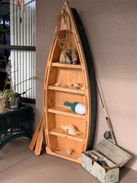 boat bookshelf for sale