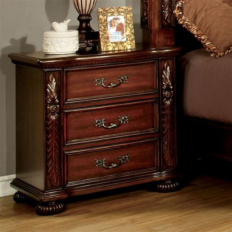 Boehme 3 Drawer Nightstand
