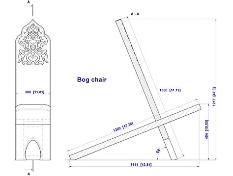 Bog Chair Plans