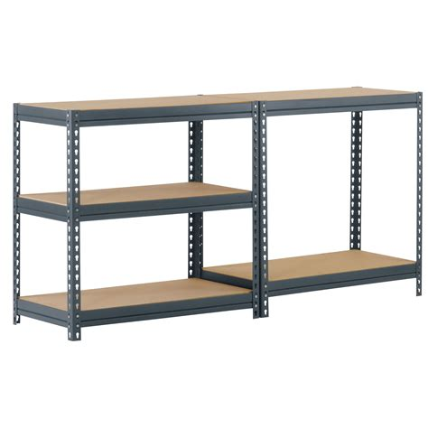Boltless Rivet 72 H Five Shelf Shelving Unit