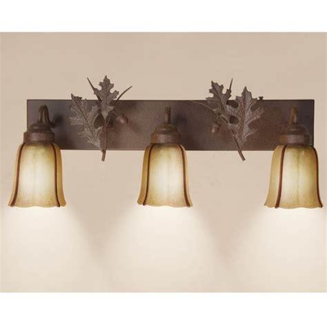Bonaberrie Oak Leaf and Acorn 2-Light Vanity Light