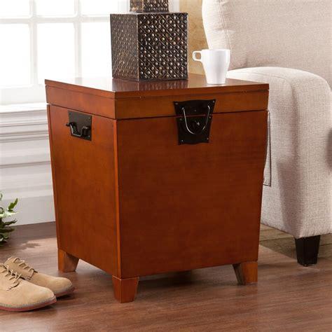 Boneta End Table With Storage