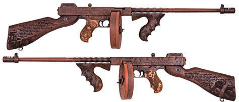 Tommy-Gun Bonnie And Clyde Tommy Gun.