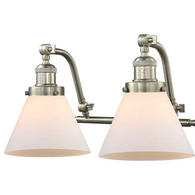 Bonomo Cone 2-Light Vanity Light