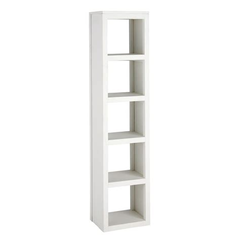 bookcase tower white