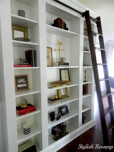 bookcases with ladders ikea