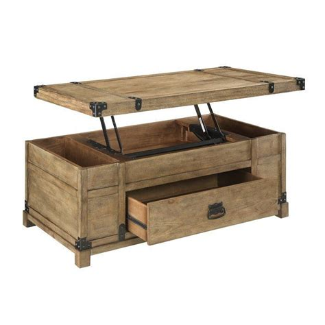 Boomer Coffee Table with Lift Top