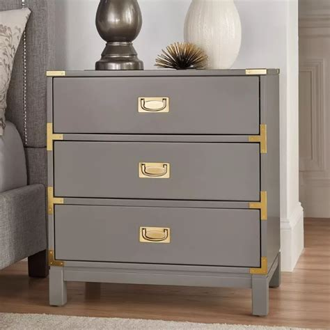 Borden 1 Drawer Nightstand