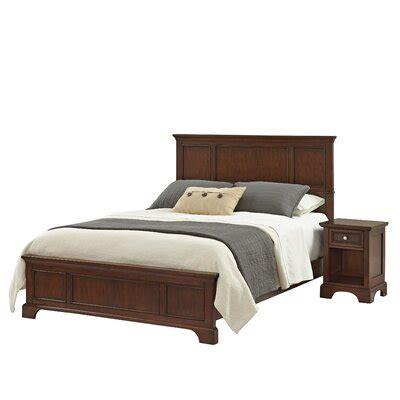 Borden Panel 2 Piece Bedroom Set byThree Posts