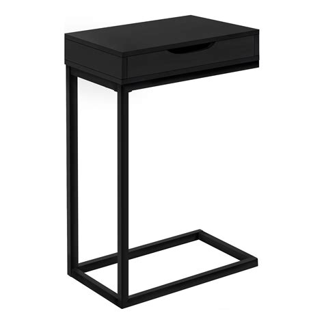Borum Mirrored C-shape Accent End Tabe