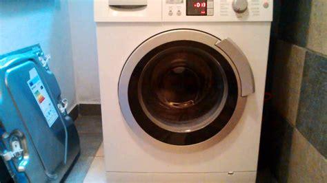 Bosch Waschmaschine Schleudert Nicht