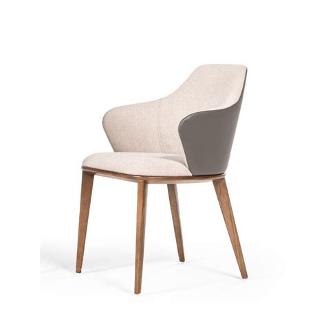 Bostrom Modern Beige & Grey Dining Chair