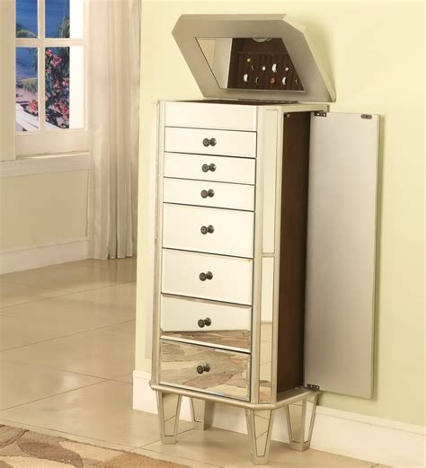 Bothwell Jewelry Armoire with Mirror