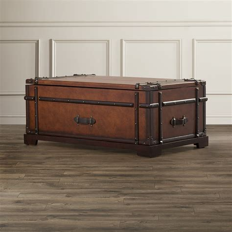 Bouldin Coffee Table Trunk with Lift Top