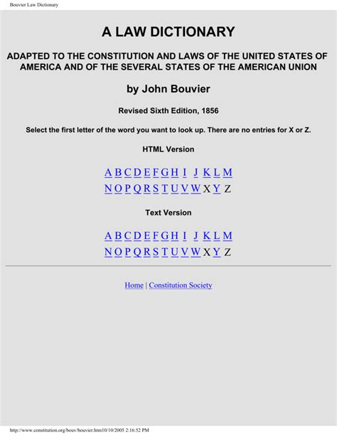 Convert Business Degree To Law Bouviers Law Dictionary 1856 Edition Letter D