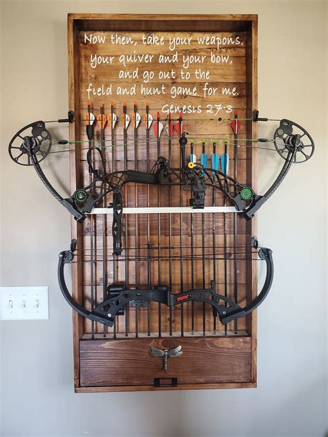 Bow Rack Woodworking Plans