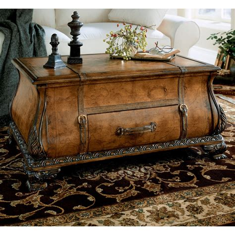 Bowler Trunk and Coffee Table