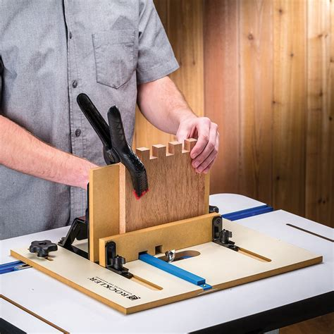 Box Joint Jig Router