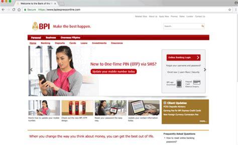 Bpi Credit Card Application Verification Internet Banking Service Agreement L Bpi Bank Of The
