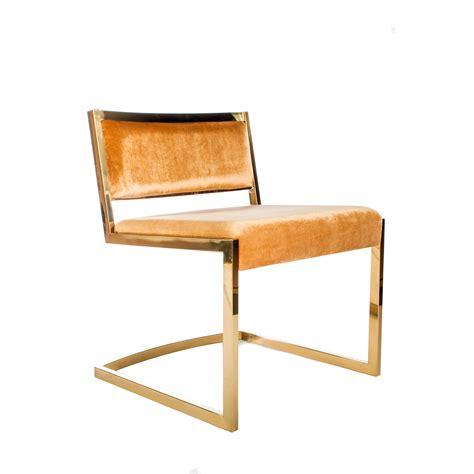 Bradley Gold Dining Chair (Set of 2)