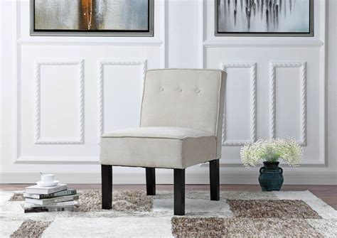 Branch Modern Sleek Linen Living Room Side Chair
