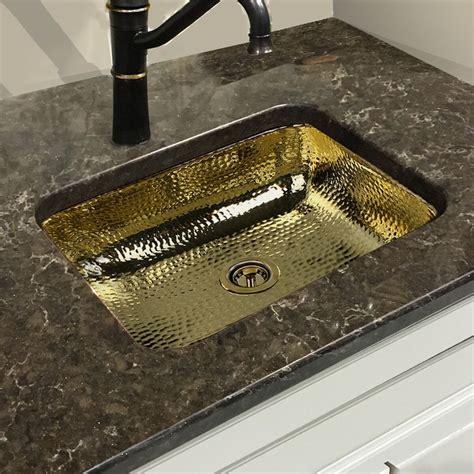 Brass Brass Bathroom Sink.