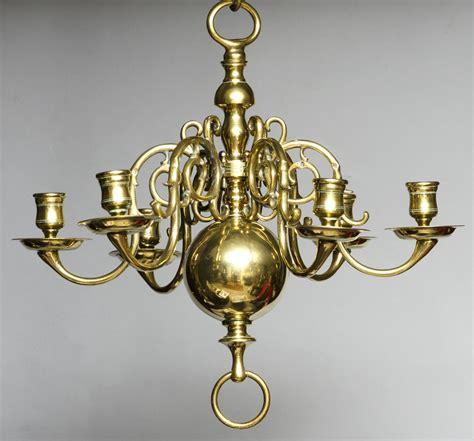 Brass Brass Chandelier.