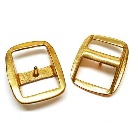 Brass Brass Conway Buckles.
