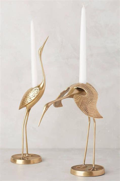 Brass Brass Crane Taper Holder.