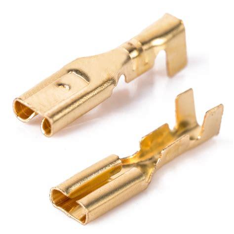 Brass Brass Crimp Connectors.