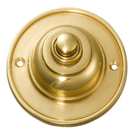 Brass Brass Doorbell Push Button.