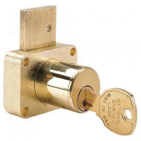 Brass Brass Drawer Lock.