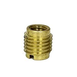 Brass Brass Dual Threaded Insert.
