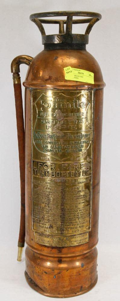 Brass Brass Fire Extinguisher Restoration.