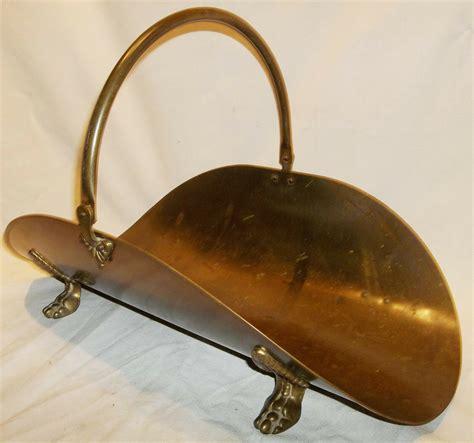 Brass Brass Fireplace Wood Holder.