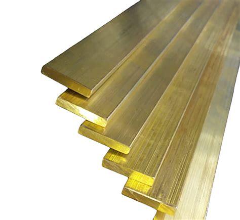 Brass Brass Flat Bar For Sale.