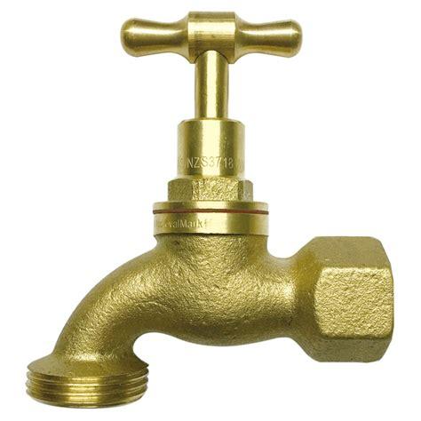 Brass Brass Garden Tap.