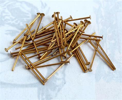 Brass Brass Head Pins.