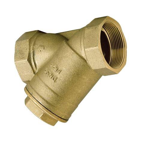 Brass Brass Inline Y Strainer.