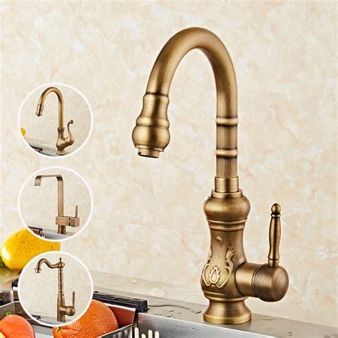 Brass Brass Kitchen Sink Faucet.